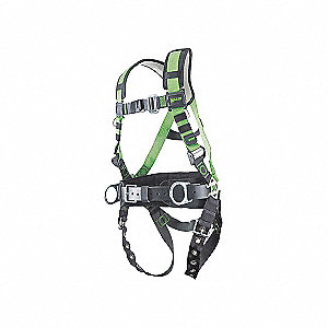 CONSTRUCTION HARNESS W/MB LEGS