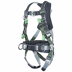TOWER HARNESS/QC/SL/BELT/PAD/SIDE D