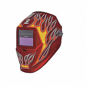 HELMET,PROHOBBY RED FLAME