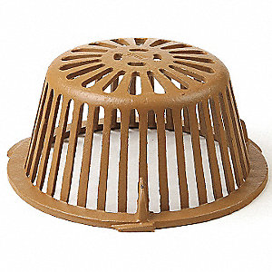 Cast Iron Roof Drain Dome