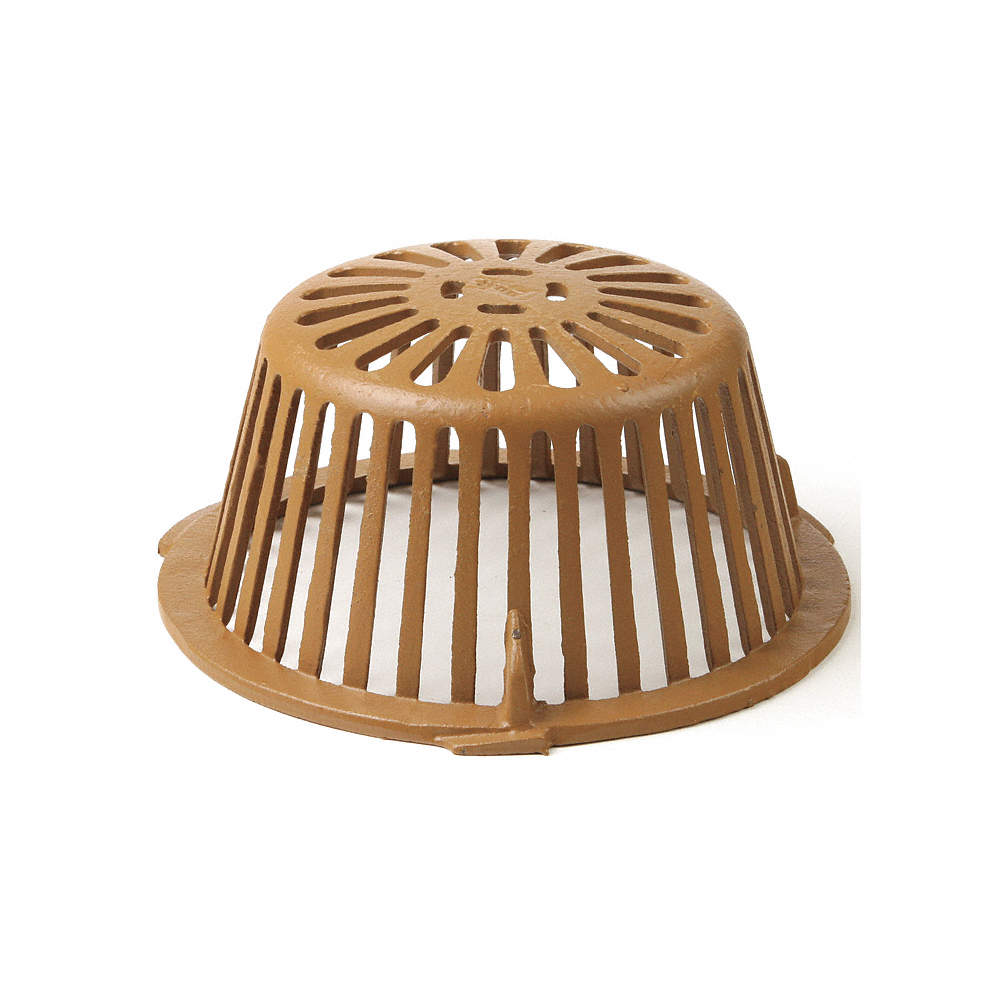 Jay R Smith Mfg Co Roof Drain Dome For Use With 11 1 8 In Roof Drains 11u238 1010cid Grainger