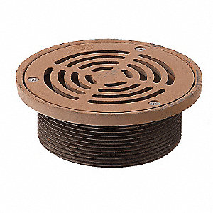 Light Commercial - Light Duty Cast Iron Adjustable Floor Drain Strainer