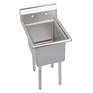 Scullery Sink,Without Faucet,29 In. L