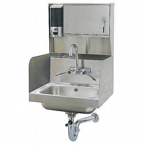 Advance tabco lavamanos tam 10 pulg x 14 pulg lavabos for Lavabo de manos
