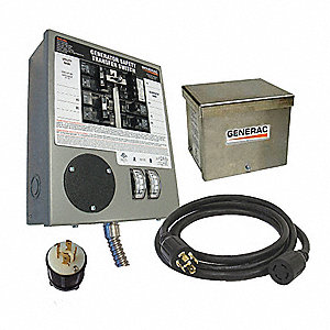 Manual Transfer Switch,30A,120/240V