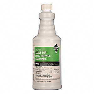 32 oz. Food Service Sanitizer, 1 EA