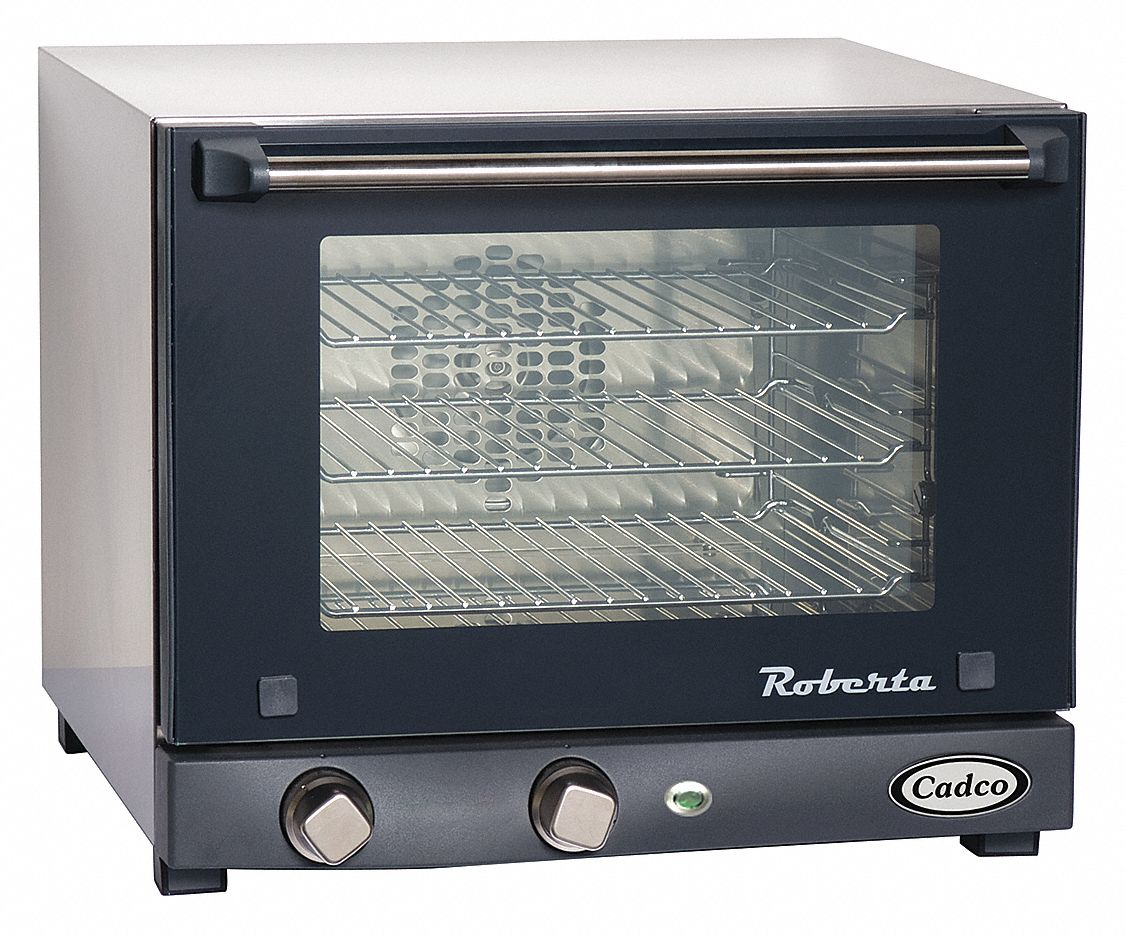 "21 1/2 in"" x 19 in"" x 15 3/4 in"" Quarter Size Convection Oven"