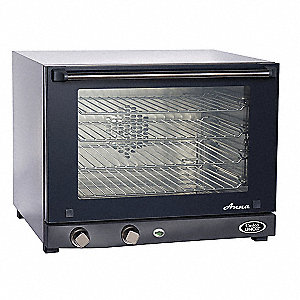 "23-3/4"" x 23-5/8"" x 19"" Half Size Convection Oven"