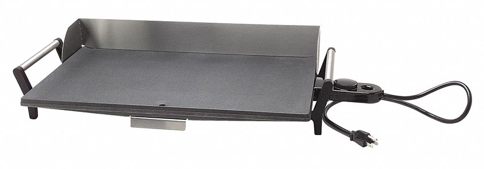 "12 1/2 in"" x 29 in"" x 5 1/2 in"" Portable Griddle"