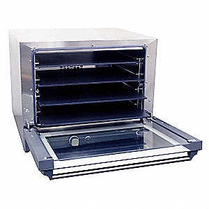 Pizza Convection Oven,4 Shelves,Half Sz