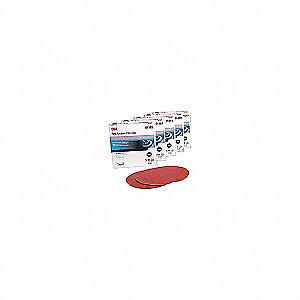 ABRASIVE RED DISC P400 5IN 100/RL
