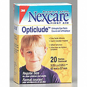 EYE PATCHES OPTICLUDE 20/BX