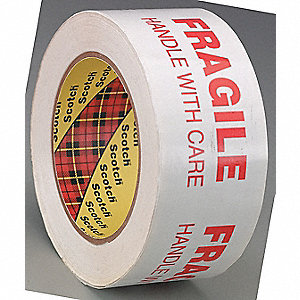 TAPE PKG PRINTED MESSAGE 48MMX100M