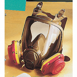 RESPIRATOR FULL FACE SMALL