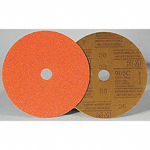 DISC FIBRE 985C 5X7/8 24GR