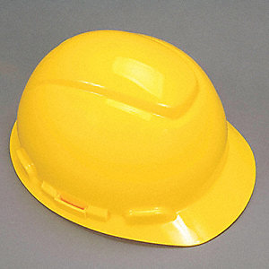 HARD HAT H-702P 4PT PINLOCK YELLOW
