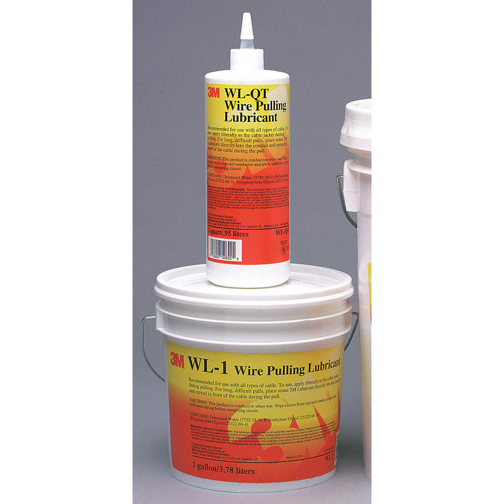 3M LUBRICANT WIRE PULLING GEL 1 QT - Multipurpose Greases - MMMWL-QT ...