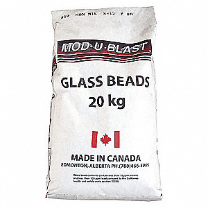 MEDIA, GLASS BEAD, MANUS 8, 20KG/BG