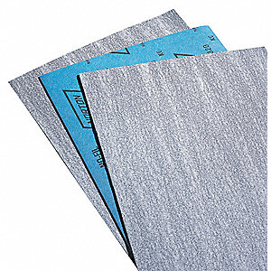 "Fine Silicon Carbide Sanding Sheet, 150 Grit, 11"" L X 9"" W, Backing Weight : B, 100 PK"