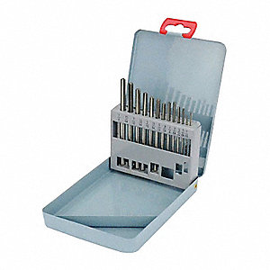 Chucking Reamer Sets,1/16In- 1/4 In,13pc