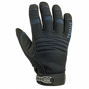 Cold Protection Gloves,2XL,Black,PR