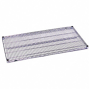 SHELF WIRE CHROME PLATED 14X30IN