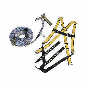KIT ROOFERS TONGU-BUCK 25FT LIFELIN