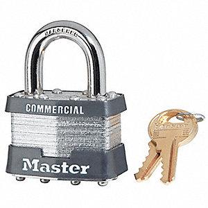 PADLOCK STL MAX/SEC 1-3/4IN-4 PIN