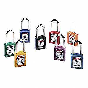 PADLOCK 6PIN 1-1/2WX3IN BLK