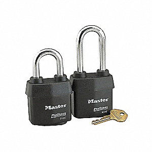 PADLOCK W/TOUGH 2-1/8IN-5PIN 2-3/8I