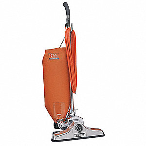 "Bagged Upright Vacuum with 14"" Cleaning Path, HEPA Filter Type, 10 Amps"