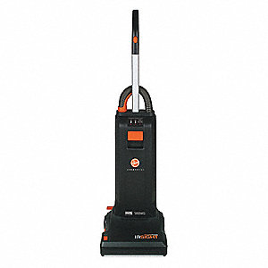"Bagged Upright Vacuum with 13"" Cleaning Path, 111 cfm, HEPA Filter Type, 10 Amps"