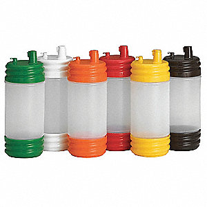 Pouring Set,Low Profile,Assorted,PK12