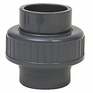 "CPVC Union, 1/2"" Pipe Size (Fittings), FNPT x FNPT Fitting Connection Type"