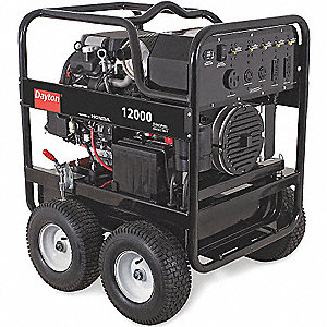 GENERATOR, 12000 RATED WATTS, GAS