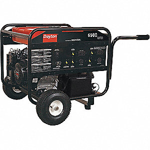 GENERATOR, 6500 RATED WATTS, GAS