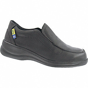 SHOES SLIP ON BLACK ST/SD SZ 5