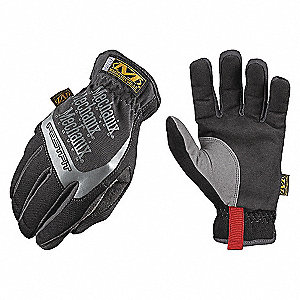 GLOVES FASTFIT BLACK SZ 12/2XL