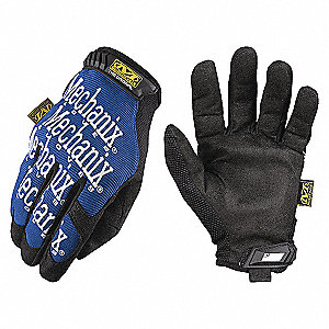 GLOVES MECHANIX ORIGINAL BLUE LARGE