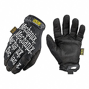 GLOVES MECHANIX ORIGINAL BLK LARGE