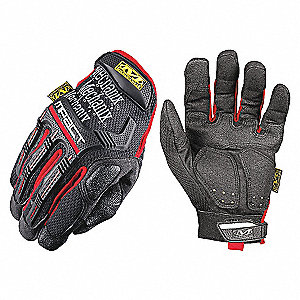 GLOVES,M-PACT,BLACK/RED,XXL
