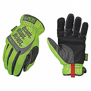 GLOVES,SAFETY,FASTFIT,HI-VIZ YELLOW,XL