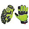 GLOVE SAFETY YELLOW MPACT SZ LGE