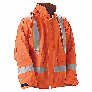 JACKET WITH HOOD PETROLITE INT OR