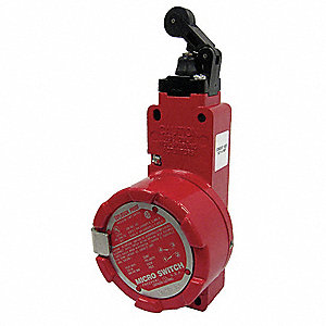 Rotary Head, No Lever Explosion Proof Safety Interlock Switch