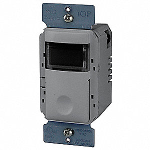 120/277VAC Electronic Wall Switch Timer, Gray