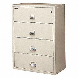Lateral File,4 Drawer,37-1/2 In. W