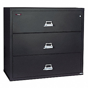 Lateral File,3 Drawer,37-1/2 In. W