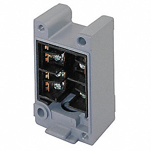 Limit Switch Receptacle,2NO/2NC