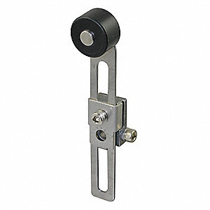 "Limit Switch Lever Arm, Actuator Type: Adjustable Roller, 1.50"" to 4.63"" Arm Length"